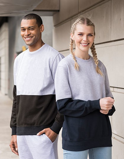 Unisex Colour Block Sweat