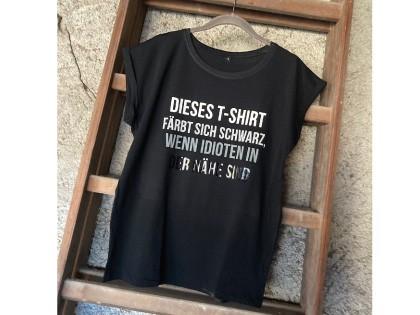 Dieses T-Shirt färb sich...