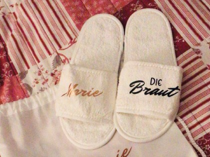 Team Braut - Classic Terry Slippers