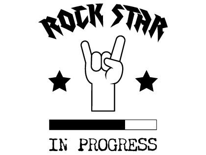 Rock Star in progress