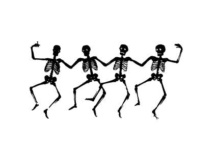 Tanz der Skelette